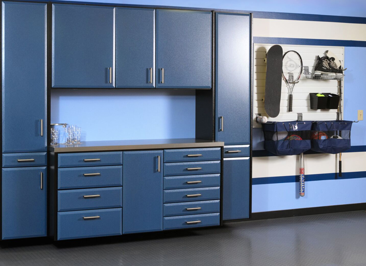 Powder Coat Garage Cabinets